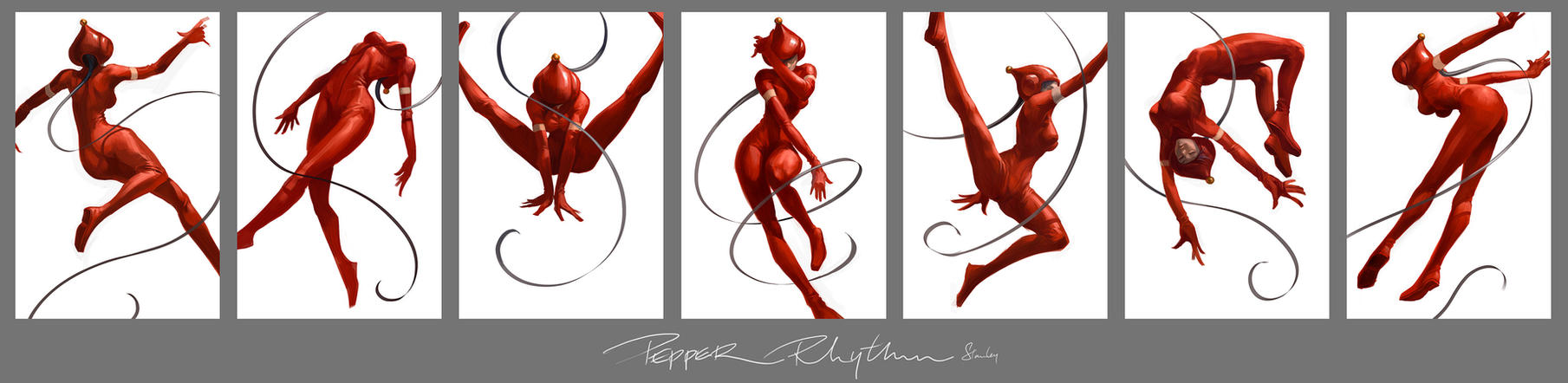 Pepper Rhythm by Artgerm