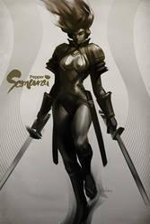 Pepper Samurai by Artgerm