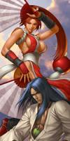 Mai VS Ukyo by Artgerm