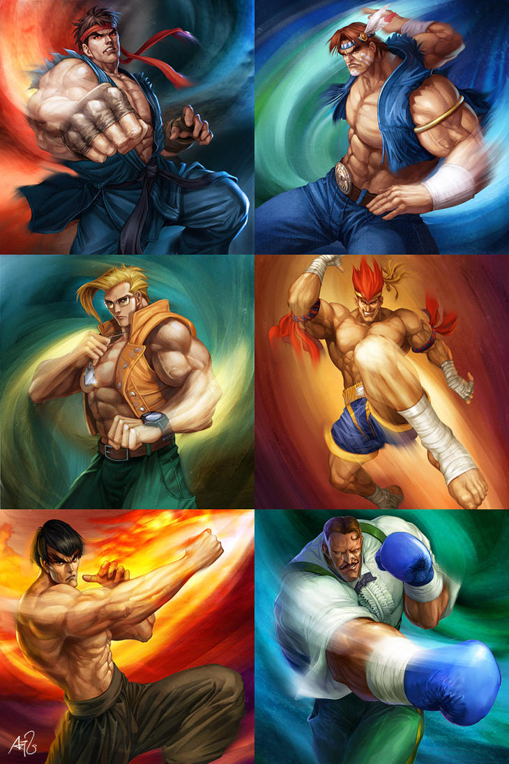 Street Fighter - Powerfoil 1 by Artgerm