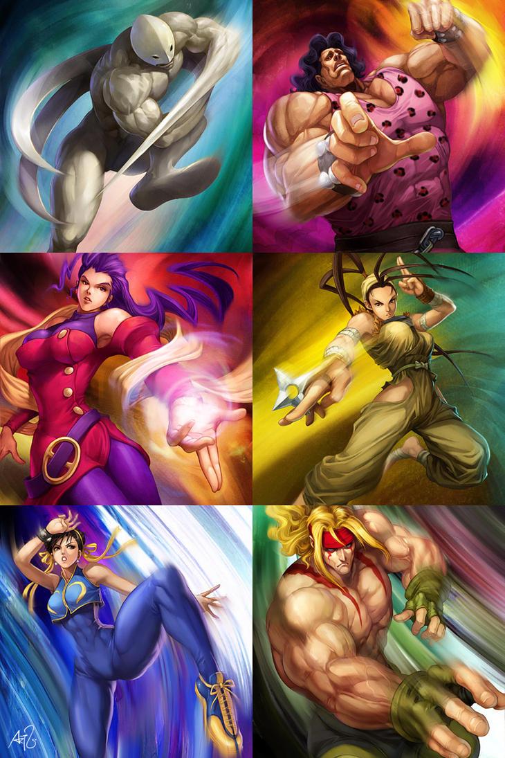 Street Fighter - Powerfoil 2 by Artgerm