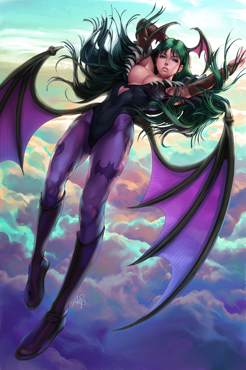 Morrigan by Artgerm