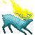 Deer on fire by Igrimis