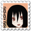 Kiri Komori - Stamp by Rainforc3
