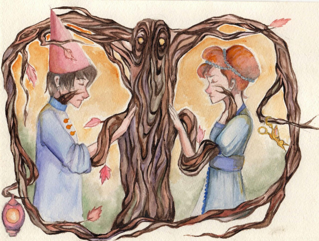 Over The Garden Wall Wirt And Beatrice By Fabryei Fabryei On Deviantart