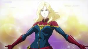 Captain Marvel From Future Avengers