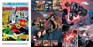 Captain Marvel vs. Robotics
