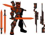 Xionic Cyborg Set