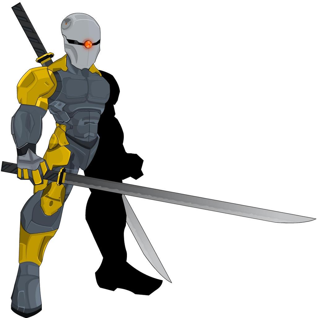 Cyborg Ninja + FOX Blade by XionicDXelt