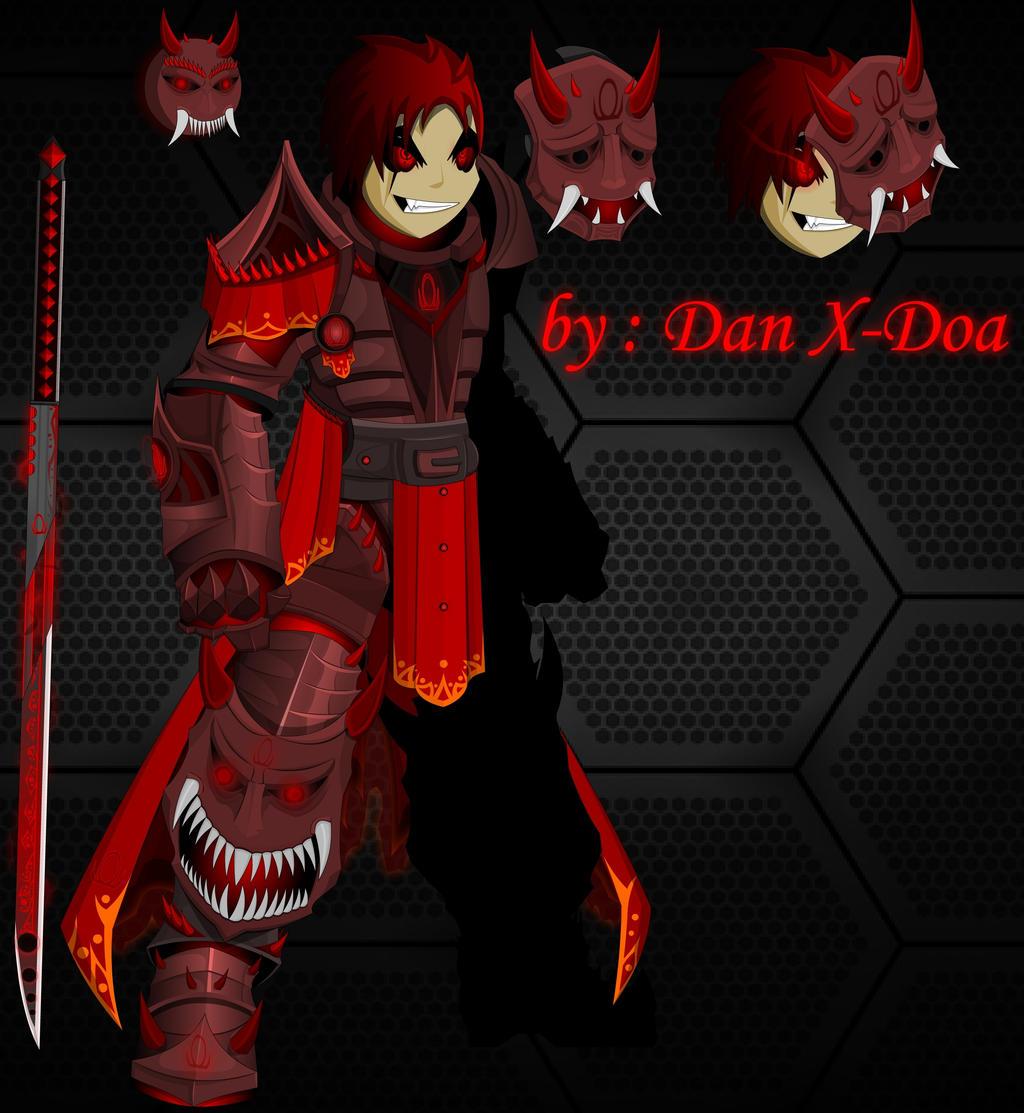 Omega Demon Knight by XionicDXelt