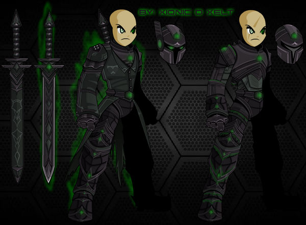 AEGIS Mecha-Soldier by XionicDXelt