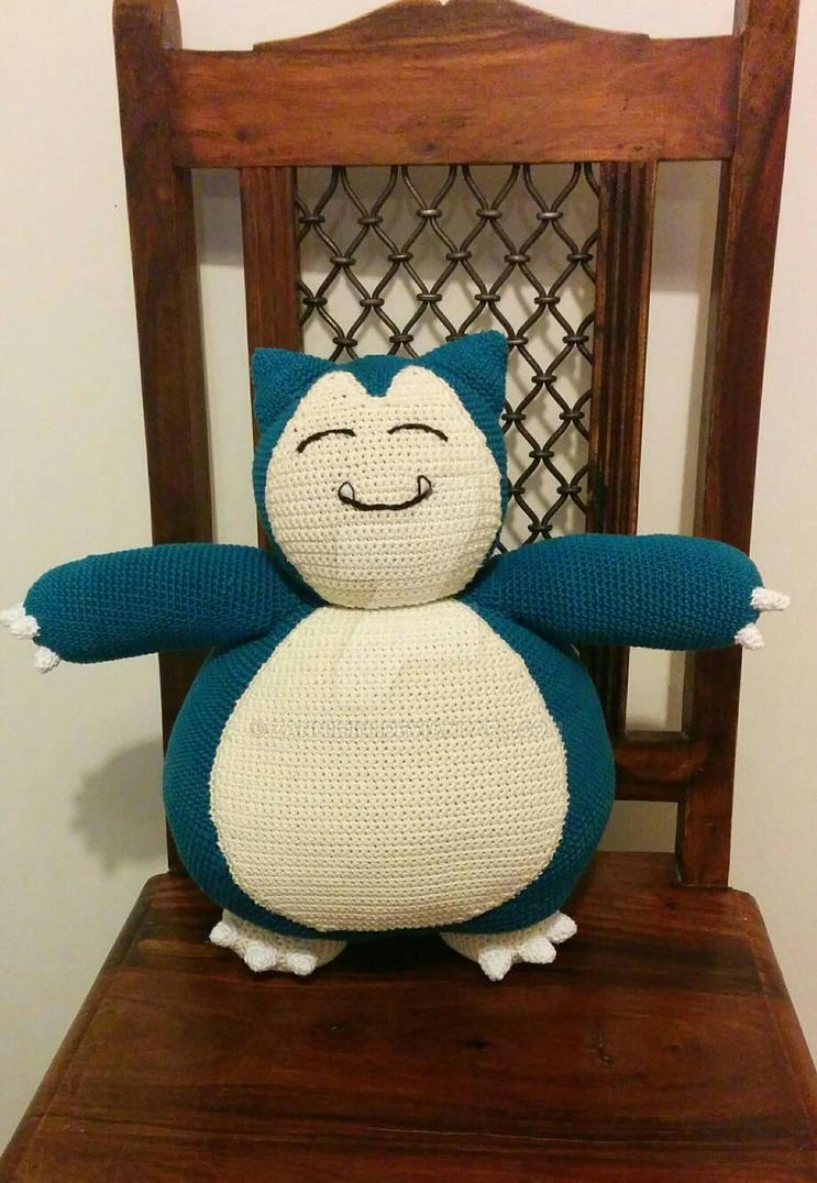 #143: Snorlax (Pokemon amigurumi) by Zanniliini
