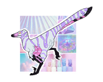 Pastel Raptor OTA [OPEN] by DakotaCurry