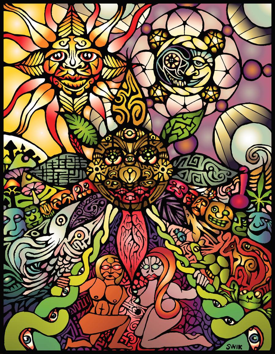 Eden in Color by pregnantchaos