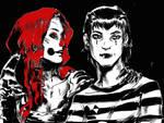 portraits:Clownette and Craem