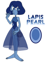 Lapis Pearl by watergems