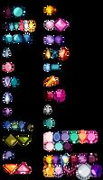 [O] Gemstone Cuts (Single) by watergems