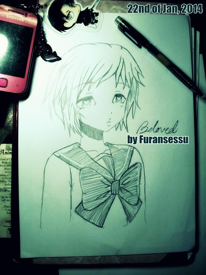Elementary School Girl by Furansessu