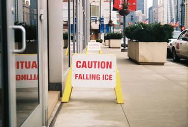 Falling Ice by irishlovely