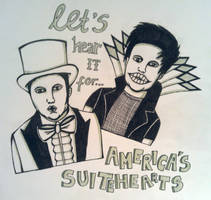 Let's Hear It For America's Suitehearts by KaleidoscopeEyes97