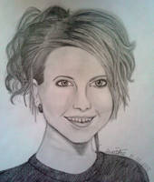 Hayley Williams Drawing by KaleidoscopeEyes97
