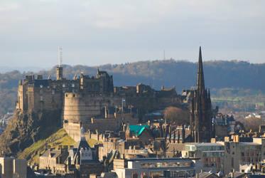 Edinburgh Castle by Joejoe9m