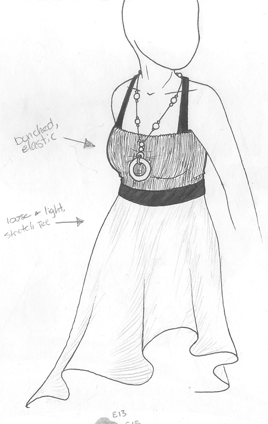 sketch summer dress 6 by jeevani on deviantart
