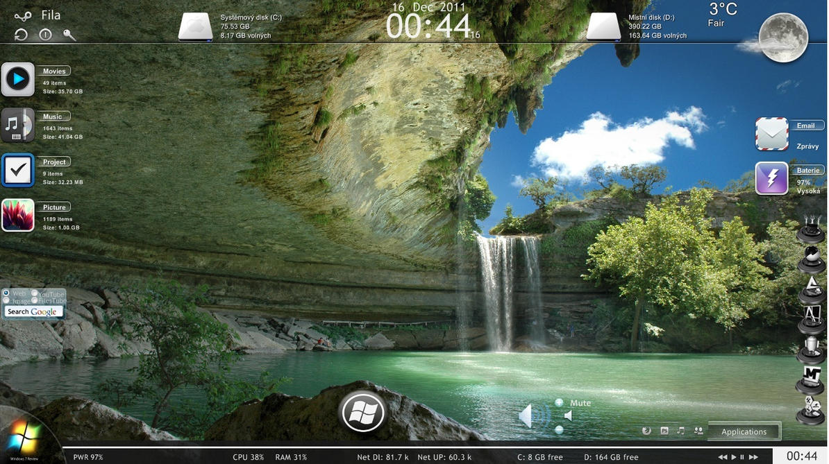 Rainmeter by Fila79