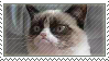 Grumpy Cat stamp by biiri