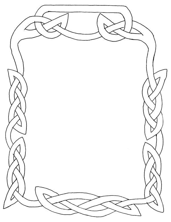 viking knotwork frame