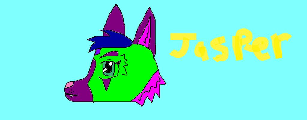 Jasper the Jackle by EchoFallonFuzzbutt24