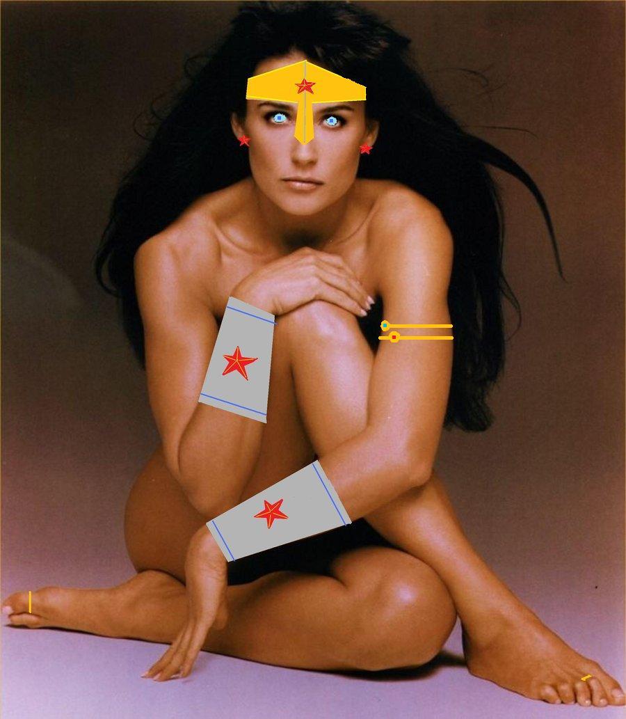 Wonder Women Naked 90
