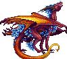 Space Crystal Dragon sprite WIP by Edo-Wonka