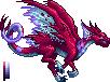 Extrasensory dragon female sprite WIP by Edo-Wonka