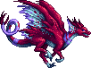 Extrasensory Dragon female sprite by Edo-Wonka