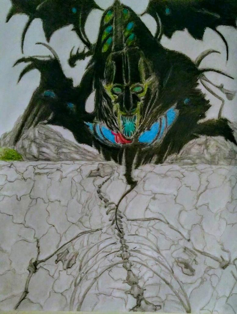the dragon never died , el dragon nunca murio  by Perrolobo95