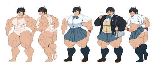 Kikou character sheet by SovietMarmalade