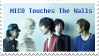 Nico Touches the Walls Stamp by path-o-logical