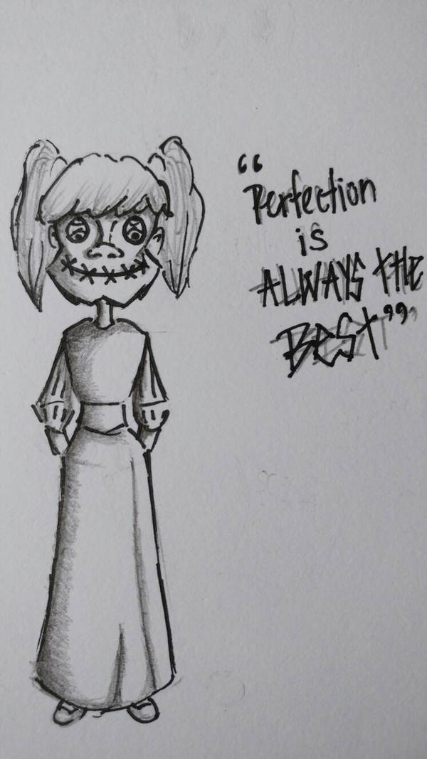 Perfection is always the best by Tridoe