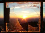 Sun Through a broken window