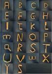 Jacob's ladder typography by kyri-IS-dark