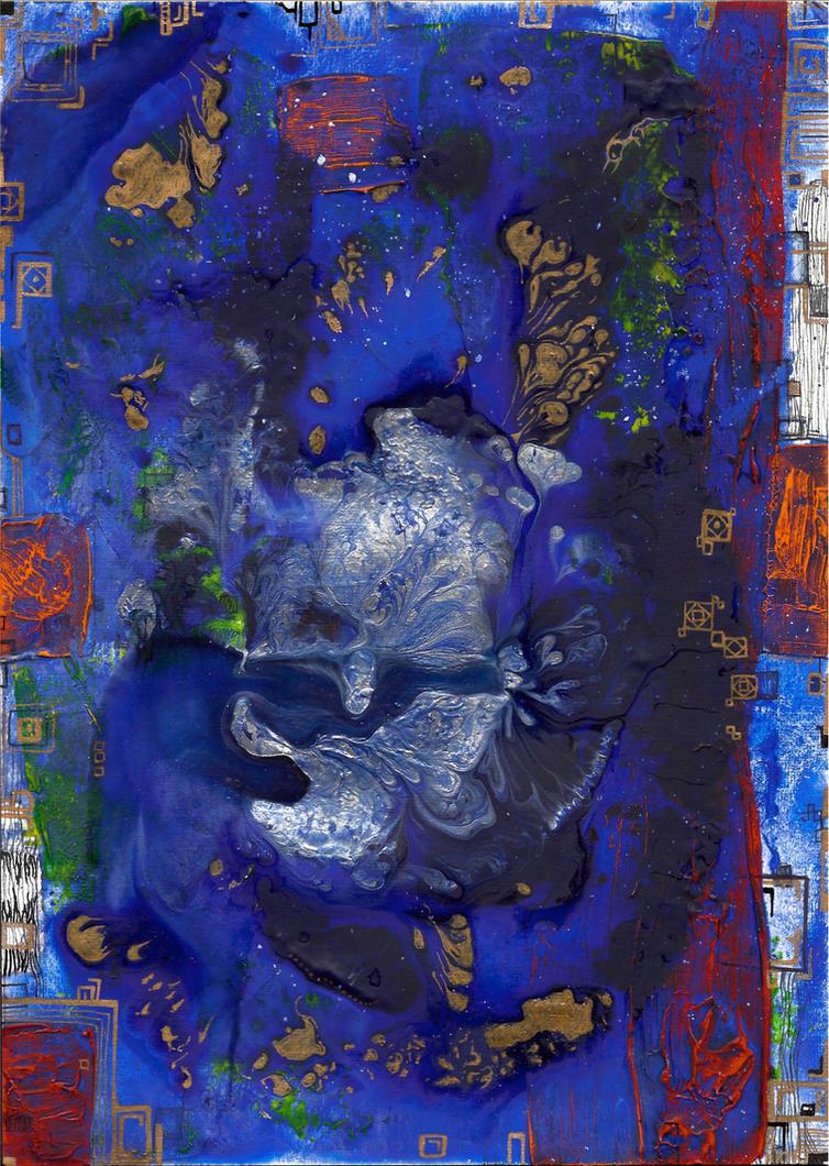 abstract rain: pandemonium by kyri-IS-dark