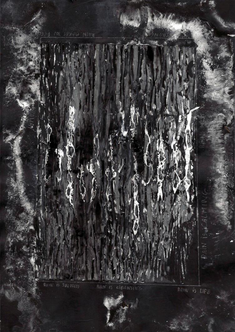 abstract rain: rain disturbance by kyri-IS-dark