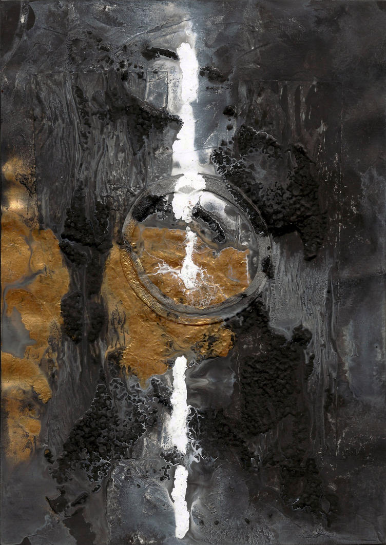 abstract rain: persistence of my curiosity by kyri-IS-dark