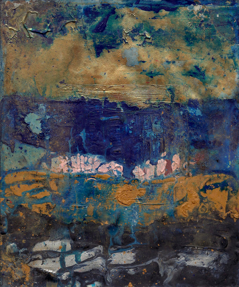 abstract rain: a mind landscape by kyri-IS-dark