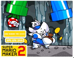 Coin Raiding the Caves     Super Mario Maker 2