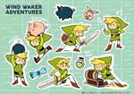 Wind Waker adventures by c-Nacarat
