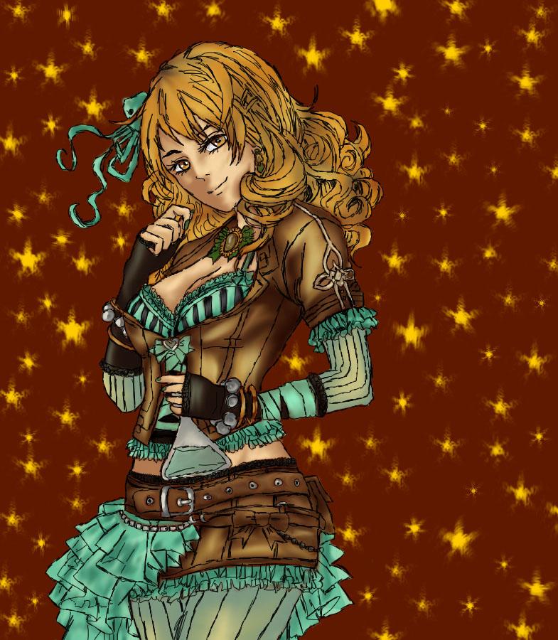 Female Steampunk Alchemist by Jomari560 on DeviantArt