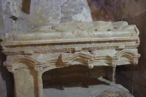 Santa Klaus grave, bishop of Myra