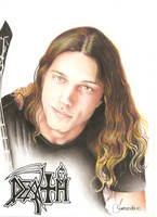 Chuck Schuldiner color by FernandoTravis